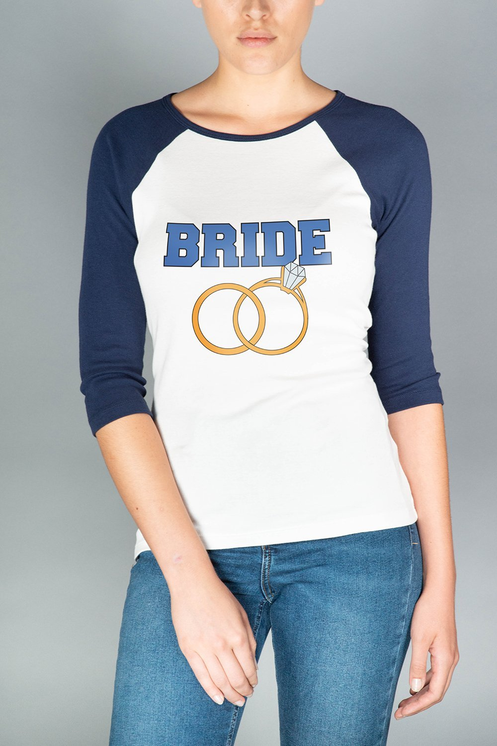 Team Bride Raglan Tee