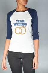 Team Wedding Raglan Tee