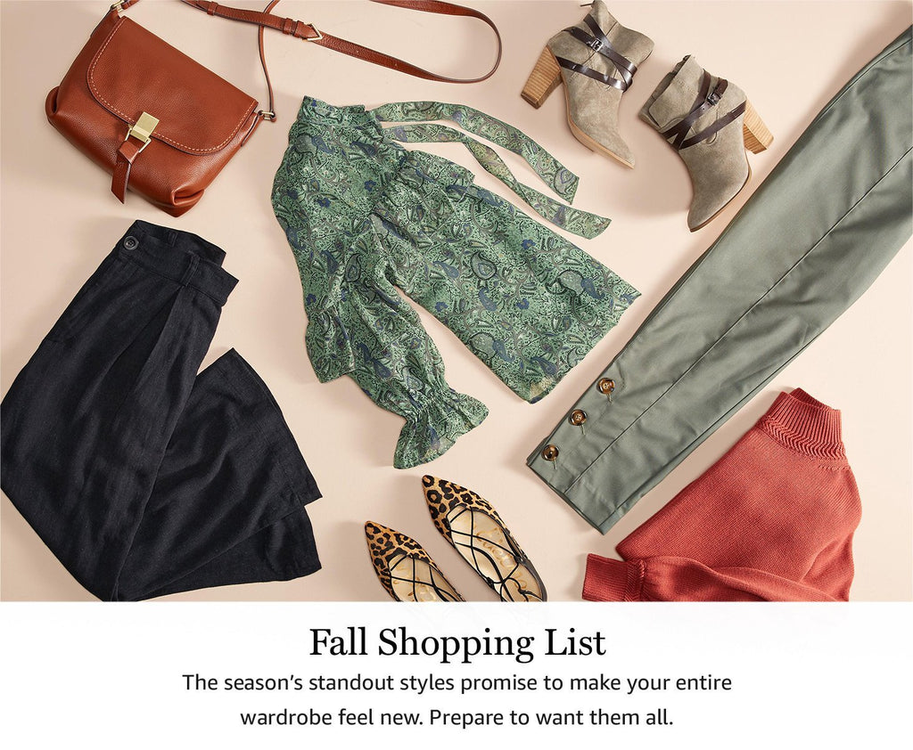 Fall's Shopping List