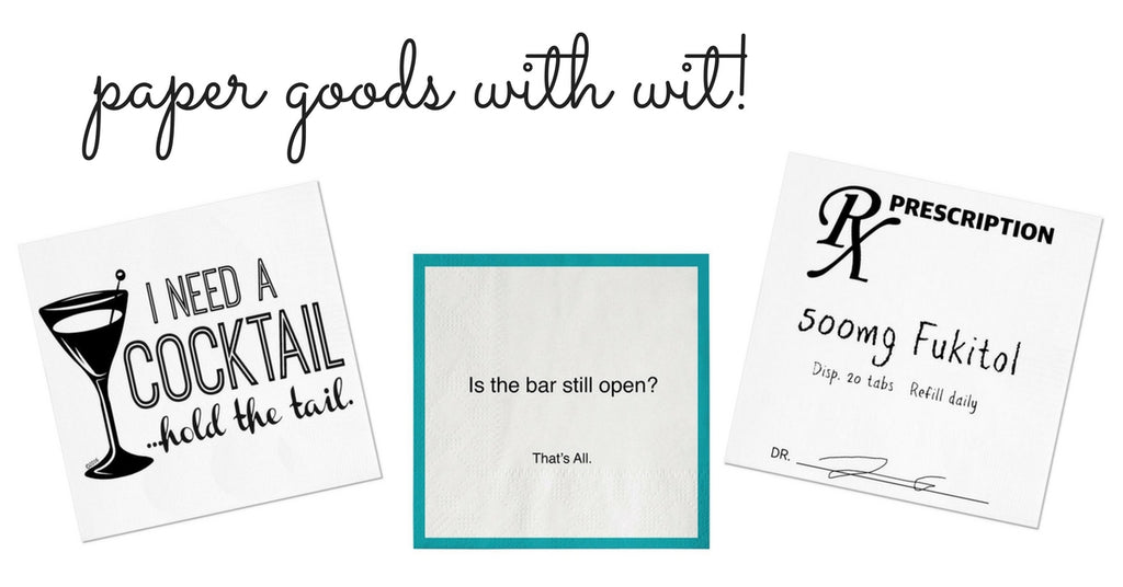 paper goods with wit