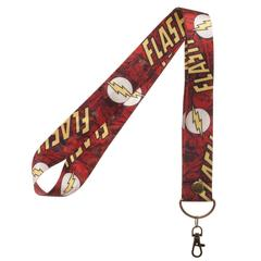DC Comics The Flash Wide Trading Pin Lanyard ID Holder