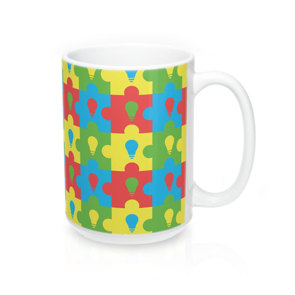 Lite It Up Blue Mug