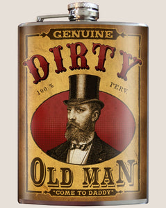 Dirty Old Man Flask