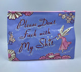 Please Don't Zipper Pouch
