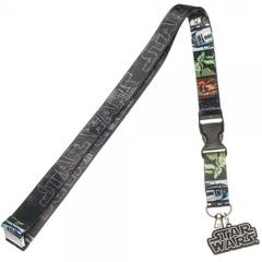 Star Wars Multi-Character Lanyard