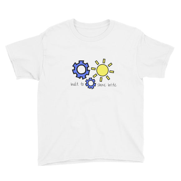 Built To Shine Brite Youth Short Sleeve T-Shirt
