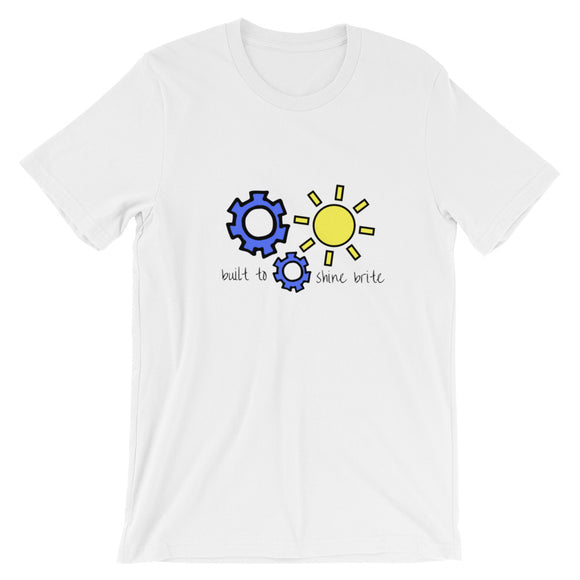 Built To Shine Short-Sleeve Unisex T-Shirt