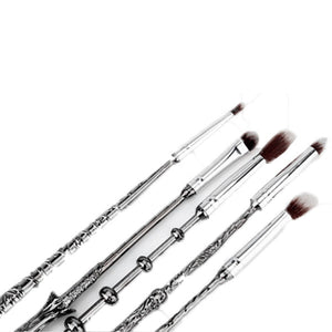 5 Piece Harry Potter Inspired Magic Wands Makeup Brush Set