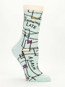 Running Late Women's Socks