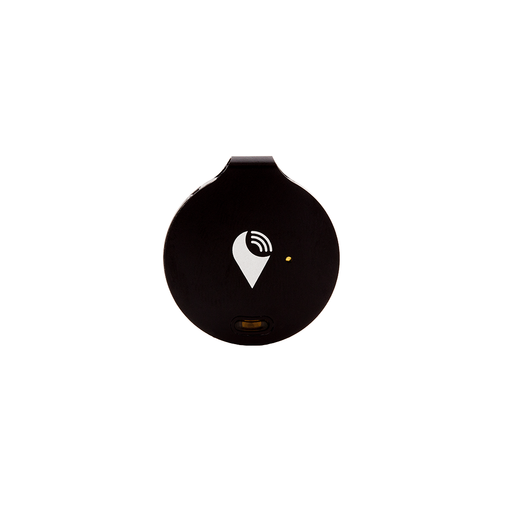 TrackR bravo - Bluetooth Item Finder - Black Bluetooth tracking device that helps find your wallet, keys, and remotes. Save time, save money, and never lose valuable belongings you care about.
