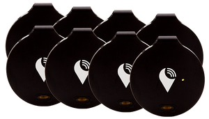 Black TrackR bravo 8-pack