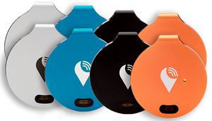 Multi-color TrackR bravo 8-pack
