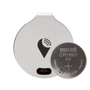 battery for trackr bravo silver maxell cr 1620 3V
