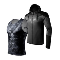 2-Pack Assault-Hoodie Wood-Tank - Jackets