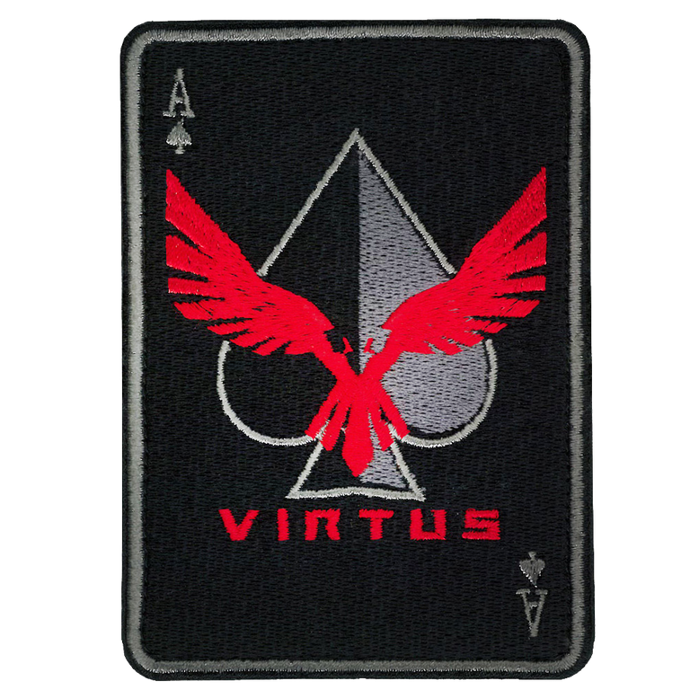 Ace-of-Spades Patch - Caps & Gear