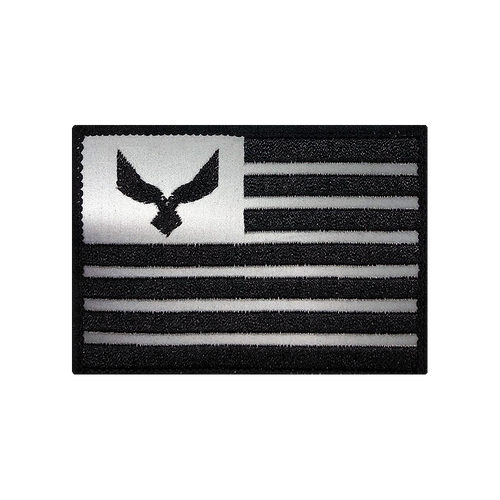 Reflective Flag Patch - Caps & Gear
