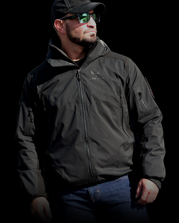 Proteus all weather Jacket for Tactical Teams, Outdoors , Athletes - Men's 3 Layer Jacket