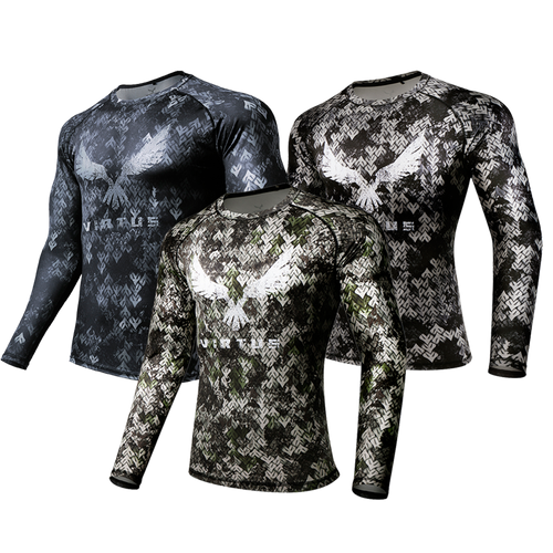 3-PACK Rocky Athletic LS-Shirt - Men's