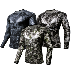 3-PACK Rocky Athletic LS-Shirt