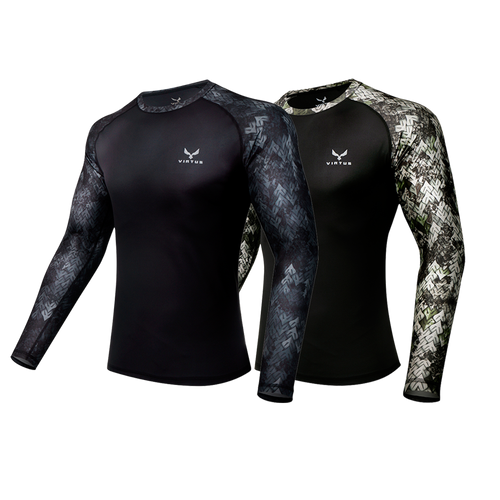 2-Pack Tyton Athletic LS-Shirt - Men's