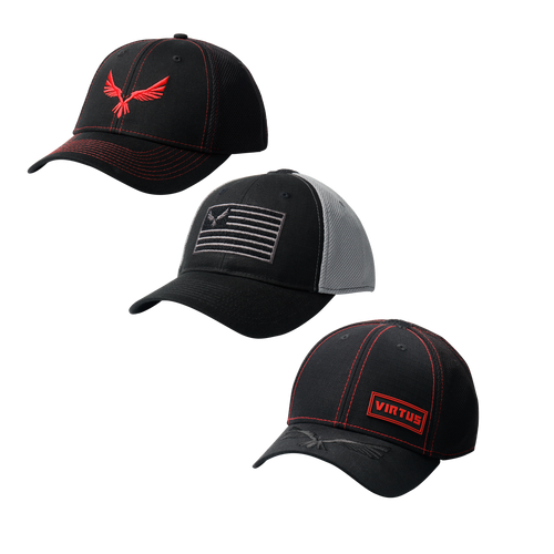 3-Pack Virtus Caps - Men's  •  Lifestyle
