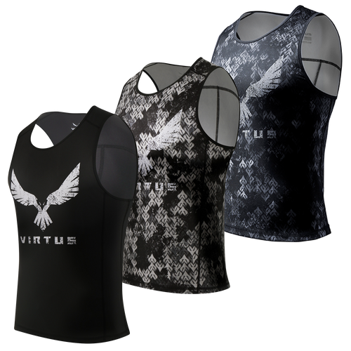 3-Pack Wood Athletic Tank - Men's