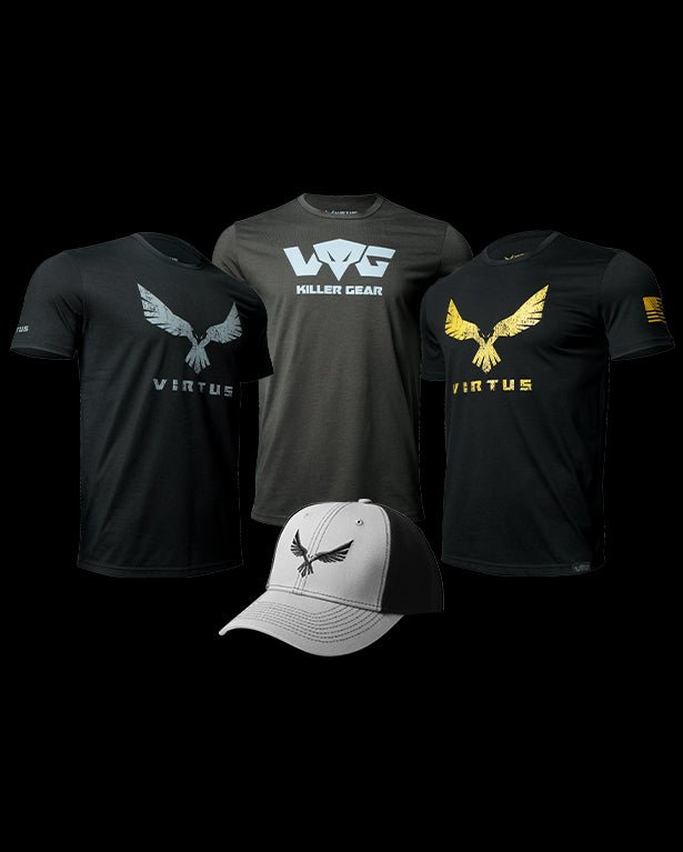 VIRTUS-PACK 3-TEES +1-CAP - Men's Tops & T-Shirts