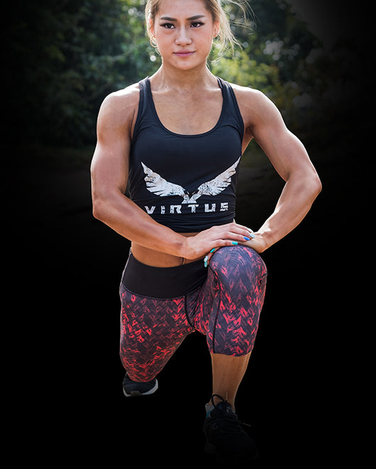 Axis athletic tank top