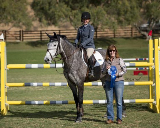 Young Event Horse Champion Fleeceworks Royal Also Wins Big in the Jumper Ring