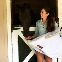 Rider Danielle Poulsen Shares Her Tricks for Beating the Summer Heat