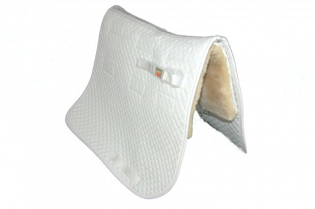 Squarepad with Removable Sheepskin Inserts Dressage