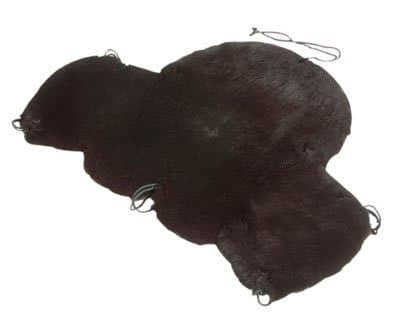 Sheepskin Deluxe Western Seat Saver w/Cantle Cover