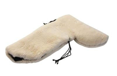 Sheepskin Full Western Seat Saver w/Cantle Cover