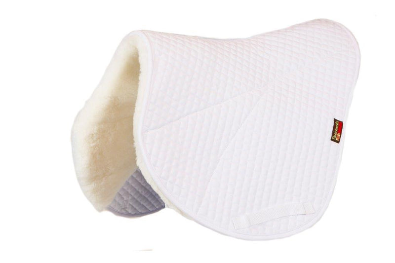 Pads with Purpose Sheepskin Quilted Perfect Balance Cross Country Contour Pad