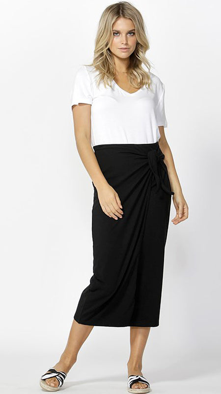 Brynne Wrap Skirt