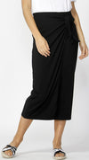Lana Midi Skirt (Black)