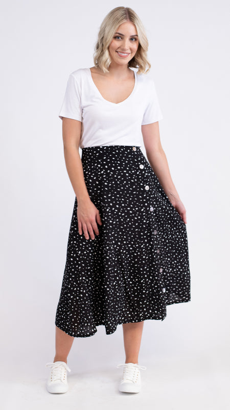 Blaire Denim Skirt