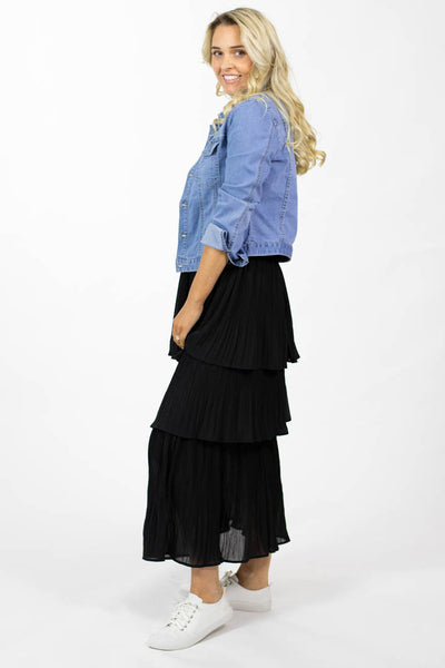 Xander Skirt (tiered skirt)