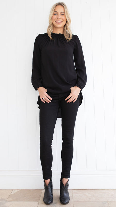 Thea Tunic (Black)