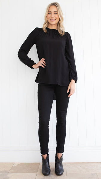 Madison Top (Black)
