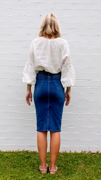 Emery Denim Skirt