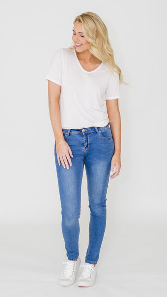 Everyday Basic Jeans (Dark)