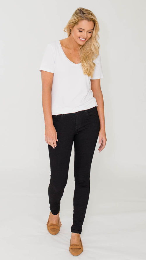Everyday Basic Jeans (Black)