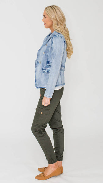 Odette Denim Jacket