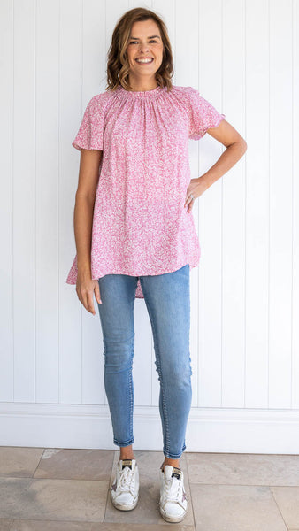 Bethany Top (Pink)