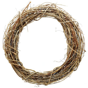 "16"" Grapevine Wreath - Round - DecoExchange"