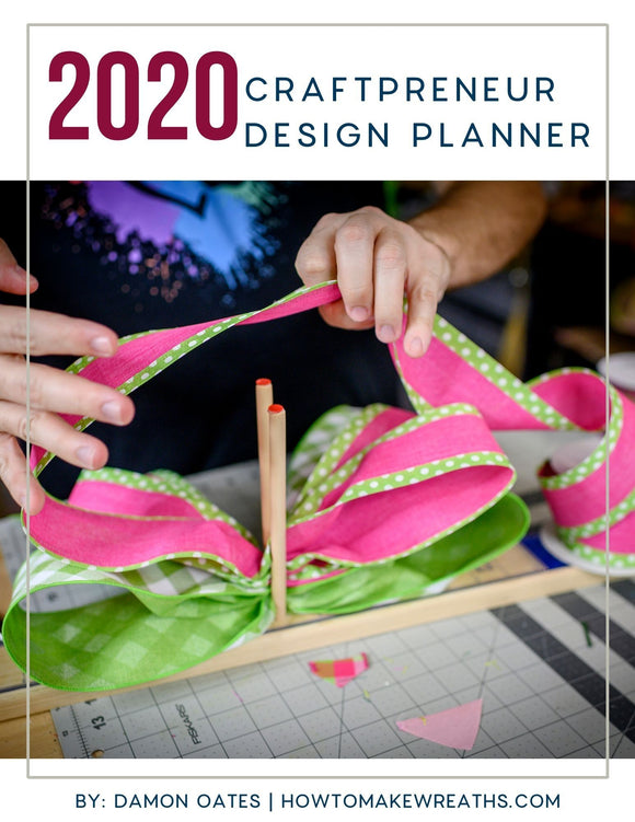 2020 Craftpreneur Design Planner by Damon Oates - DecoExchange