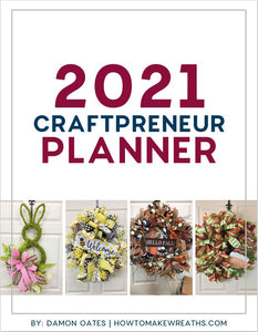 2021 Craftpreneur Design Planner by Damon Oates - DecoExchange