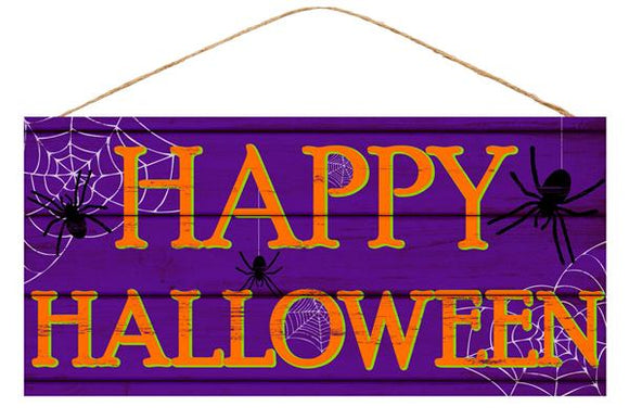 Happy Halloween Sign 12.5