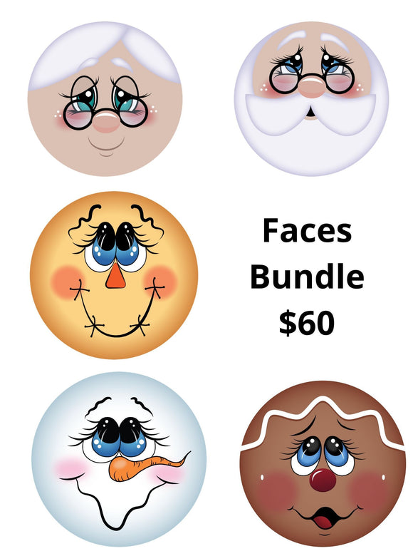 Darling Faces Bundle - DecoExchange